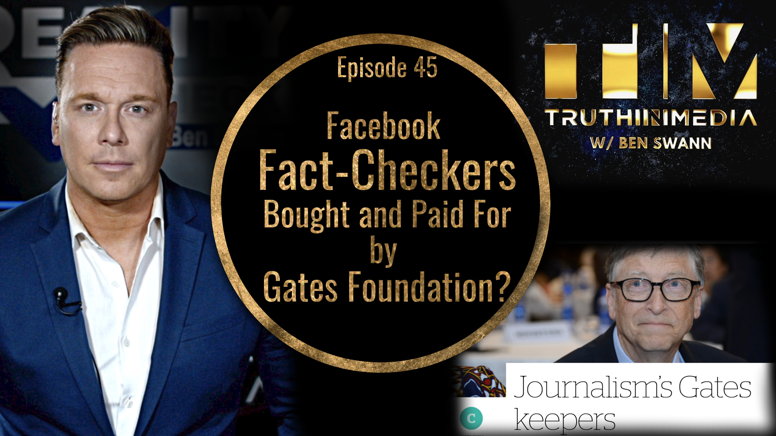 Facebook FactCheckers Bought and Paid for By Gates Foundation?