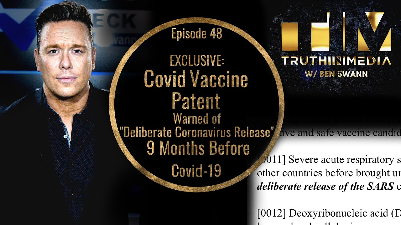 EXCLUSIVE: Covid Vaccine Patent Warned of Deliberate Coronavirus Release
