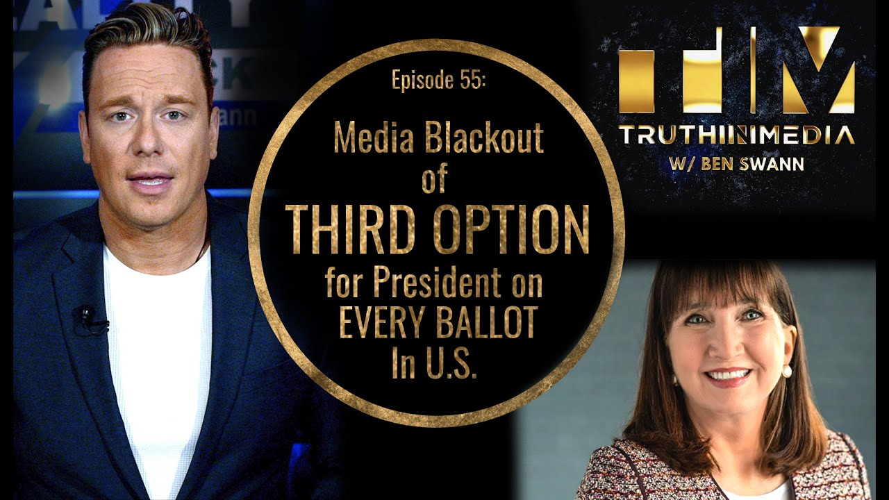 Media Blackout of Third Option For President on Every Ballot in U.S.