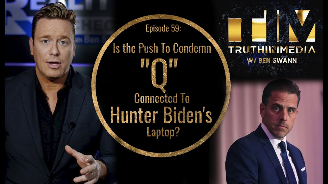 Is the Push To Condemn Q Connected To Hunter Biden's Laptop?