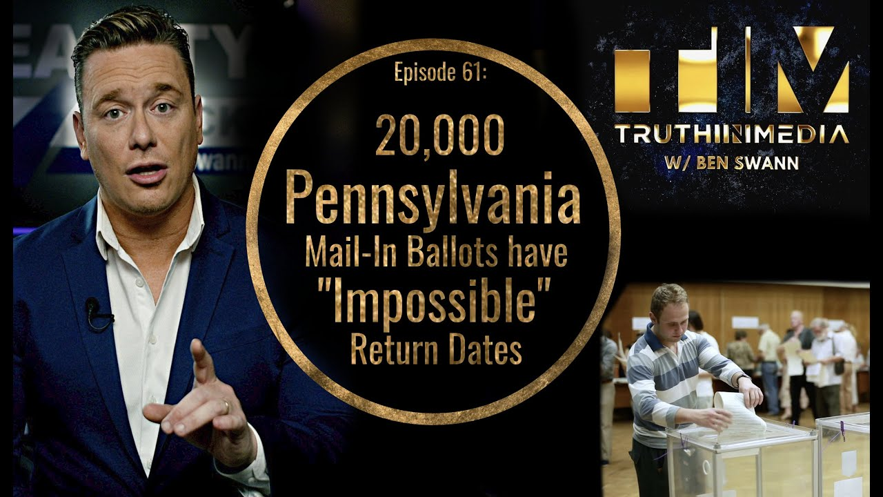 20,000 Pennsylvania Mail-In Ballots have Impossible Return Dates