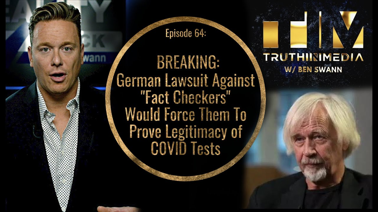 BREAKING: German Lawsuit Against Fact Checkers