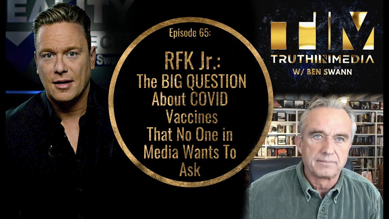 RFK Jr - The Big Question About C0VlD Vac3ines