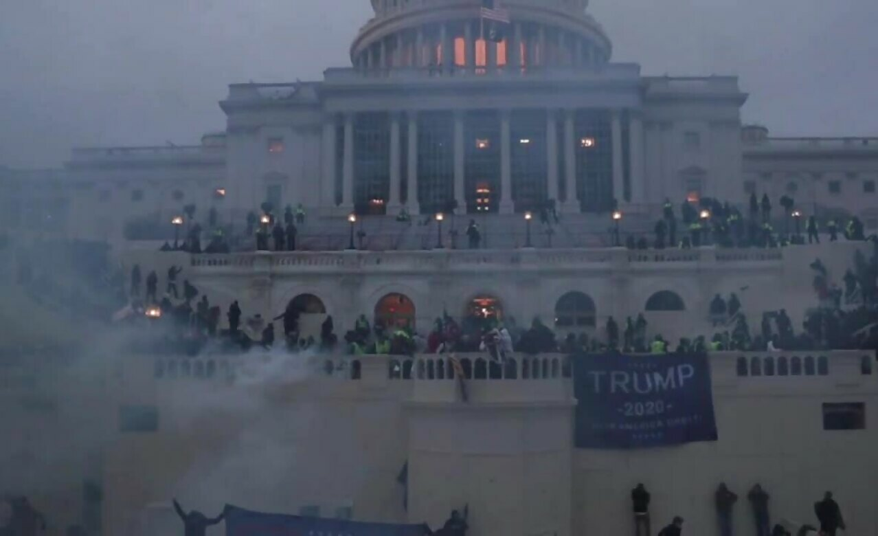Trump Supporters Who Stormed the Capitol Building are Protestors NOT Terrorists or Insurrectionists