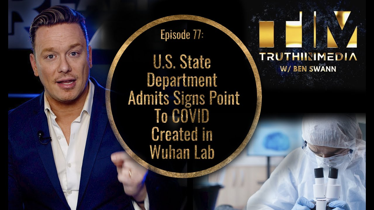 U.S. State Department Admits Signs Point To C0VlD Created in Wuhan Lab