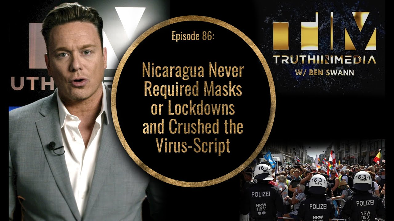 Nicaragua Never Required Masks or Lockdowns and Crushed the Virus-Script