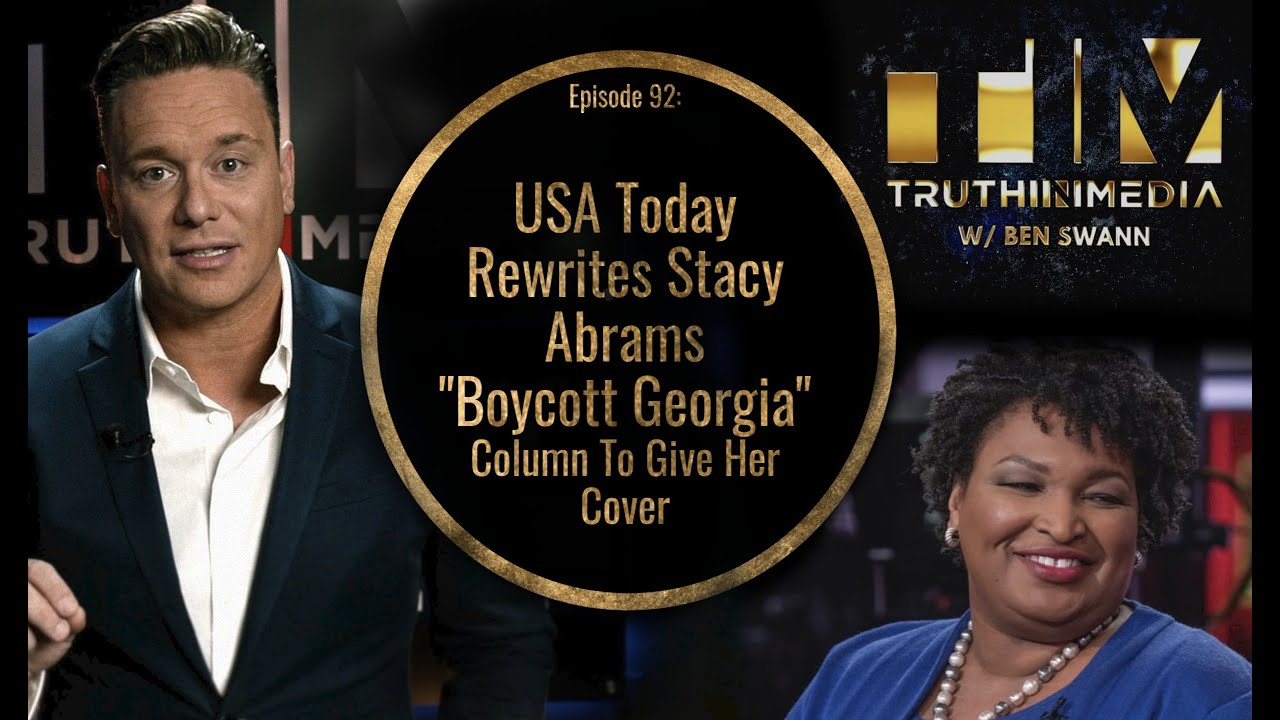 USA Today Rewrites Stacy Abrams