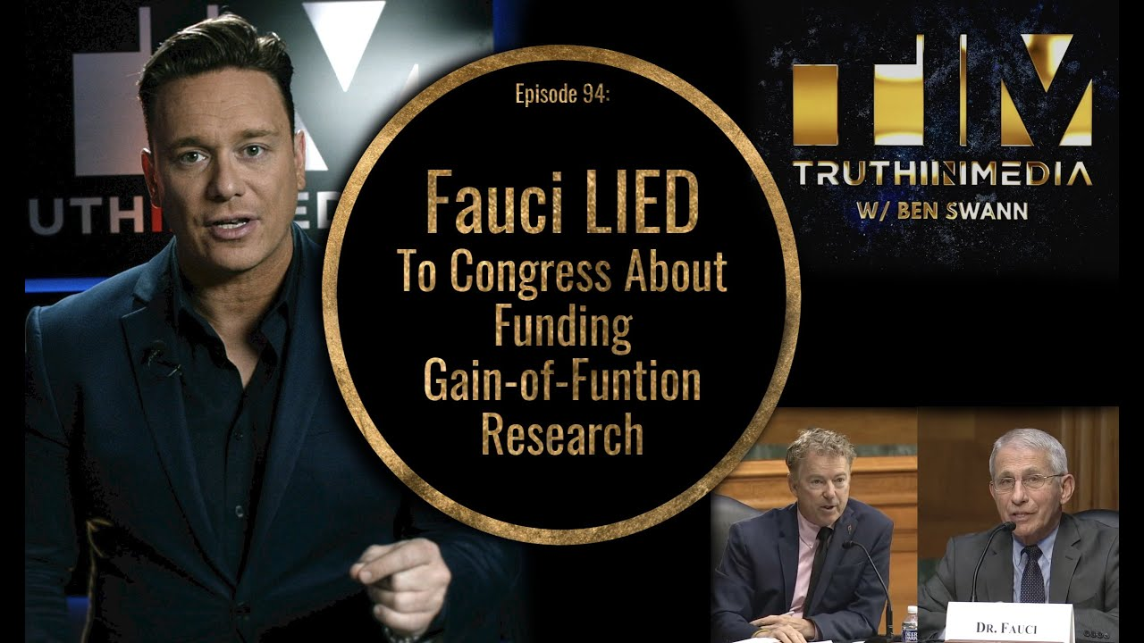 Fauci Lied To Congress About Gain-of-Function Research