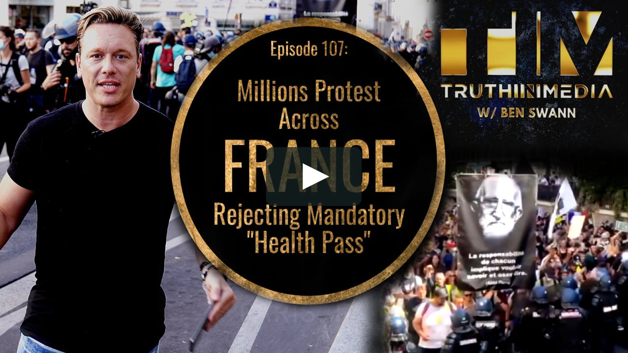 Millions Protest Across France, Rejecting Mandatory 'Health Pass'
