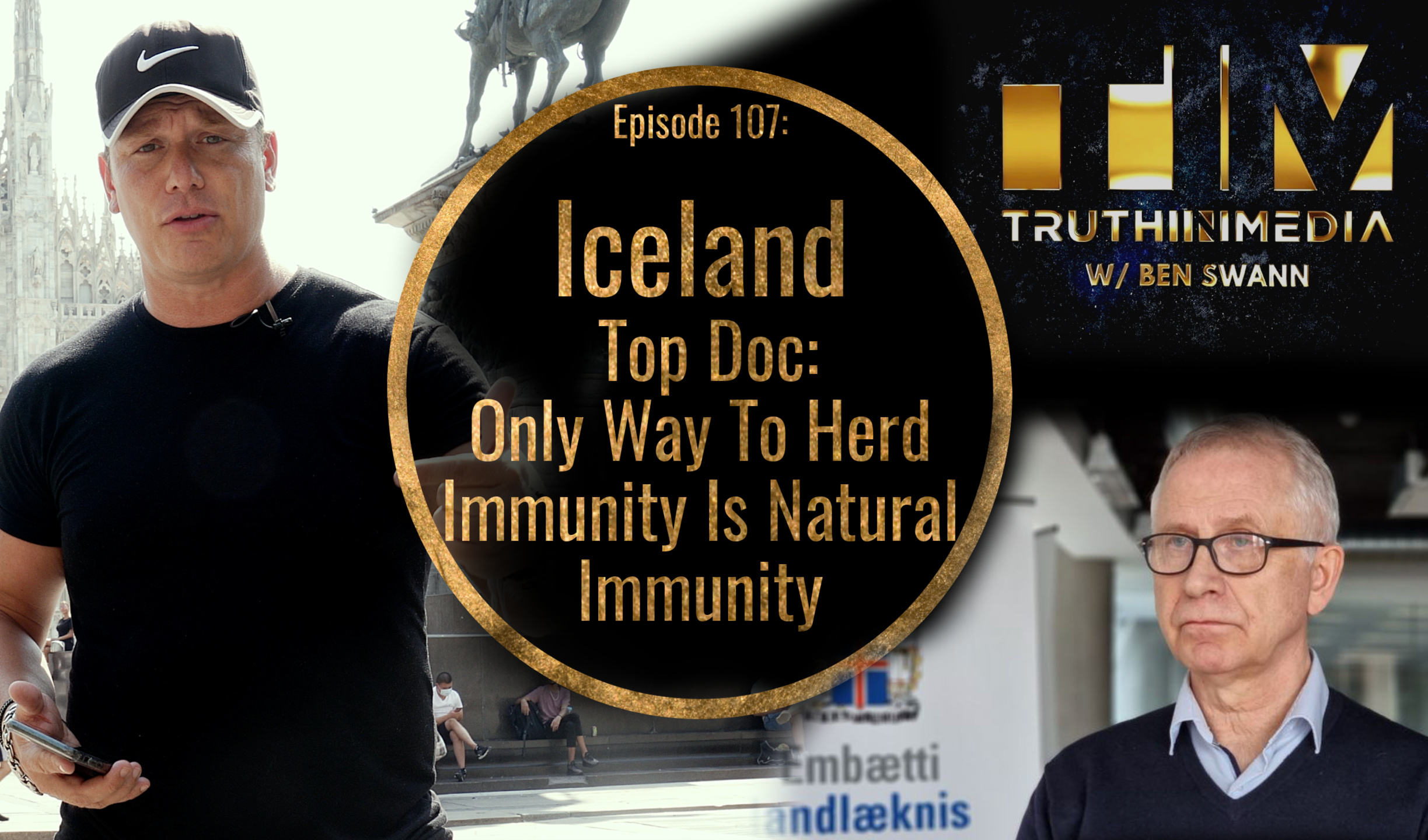 Iceland Top Doc Admits Natural Immunity Only Way To Herd Immunity