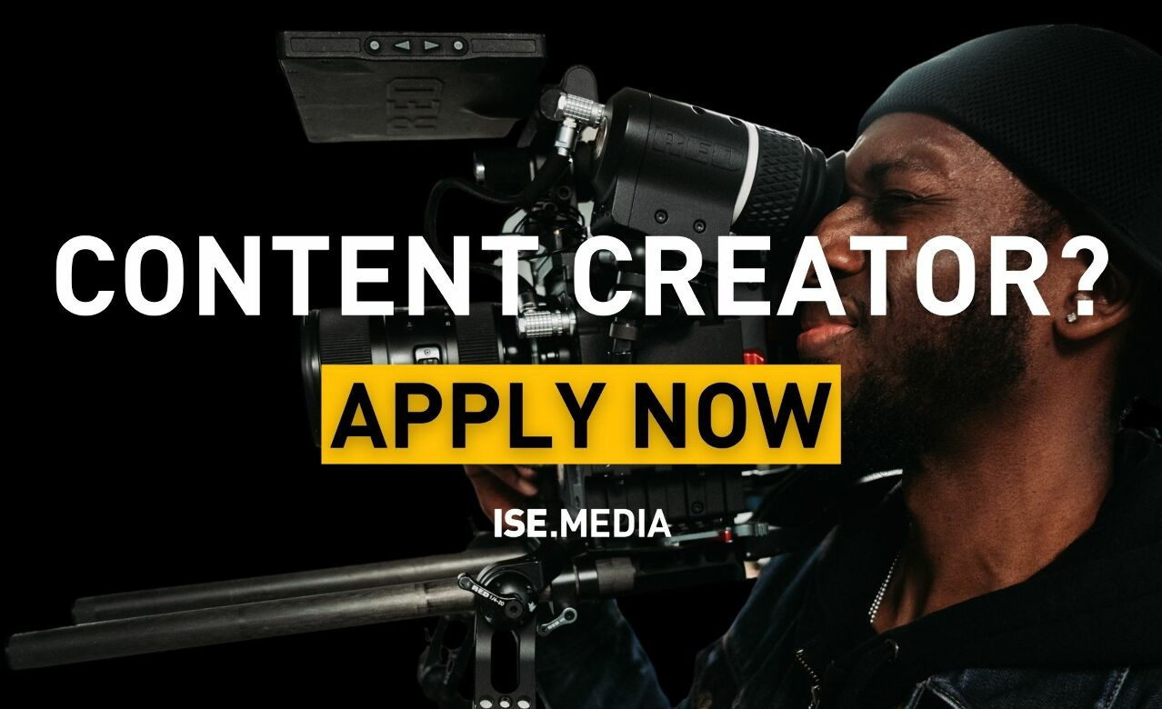 Apply to be a Content Creator